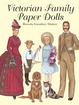 Cover of Victorian Family Paper Dolls