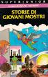 Cover of Storie di giovani mostri