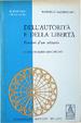 Cover of Dell'autorità e della libertà
