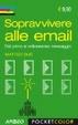 Cover of Sopravvivere alle email. Dal primo al milionesimo messaggio