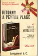 Cover of Ritorno a Peyton Place