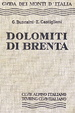 Cover of Dolomiti di Brenta