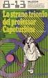 Cover of Lo strano trionfo del professor Capoturbine