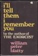 Cover of I'll tell them I remember you