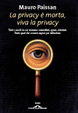 Cover of La privacy è morta, viva la privacy