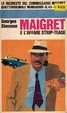 Cover of Maigret e l'affare strip-tease