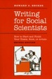 Cover of Writing for Social Scientists