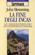 Cover of La fine degli incas
