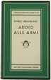 Cover of Addio alle armi