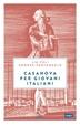 Cover of Casanova per giovani italiani