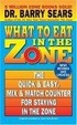 Cover of What to Eat in the Zone