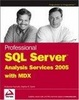 Cover of Professional SQL Server Analysis Services 2005 with MDX