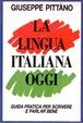 Cover of La lingua italiana oggi