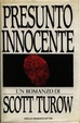 Cover of Presunto innocente