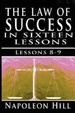 Cover of The Law of Success, Volume VIII & IX