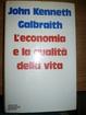 Cover of L'economia e la qualità della vita