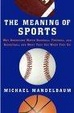 Cover of The Meaning of Sports