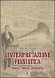 Cover of L'interpretazione pianistica