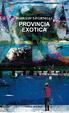 Cover of Provincia exotica