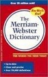 Cover of The Merriam Webster Dictionary