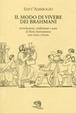 Cover of Il modo di vivere dei brahmani