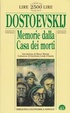 Cover of Memorie dalla casa dei morti