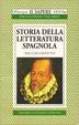 Cover of Storia della letteratura spagnola