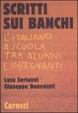Cover of Scritti sui banchi
