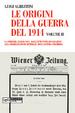 Cover of Le origini della guerra del 1914, volume II