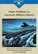 Cover of Major Problems in American Military History