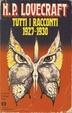 Cover of Tutti i racconti (1927-1930)