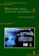 Cover of Bibliografia della questione altoatesina / Documenti Istituto Luce