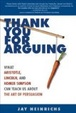 Cover of Thank You for Arguing
