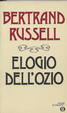 Cover of Elogio dell'ozio