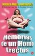 Cover of MEMORIAS DE UN HOMO ERECTUS
