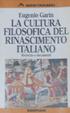 Cover of La cultura filosofica del Rinascimento italiano