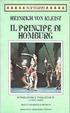 Cover of Il principe di Homburg