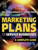 Cover of Marketing plans for service businesses