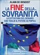 Cover of La fine della sovranità