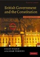 Cover of British Government and the Constitution