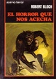 Cover of El horror que nos acecha