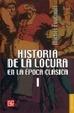Cover of Historia de la locura en la época clásica