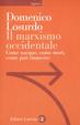 Cover of Il marxismo occidentale