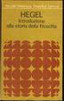 Cover of Introduzione alla storia della filosofia