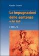 Cover of Le impugnazioni delle sentenze e dei lodi