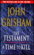 Cover of The Testament / A Time To Kill