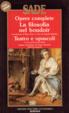 Cover of La filosofia nel boudoir - Teatro e opuscoli