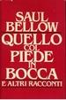 Cover of Quello col piede in bocca e altri racconti