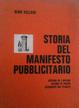 Cover of Storia del manifesto pubblicitario