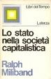 Cover of Lo stato nella società capitalistica